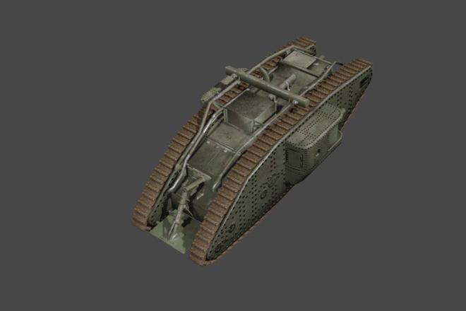 Сделаю 3д модель. Для игр и 3д печати 6 - kwork.ru