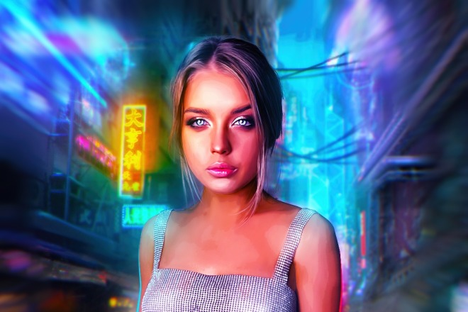 Качественный Digital Art Портрет 3 - kwork.ru