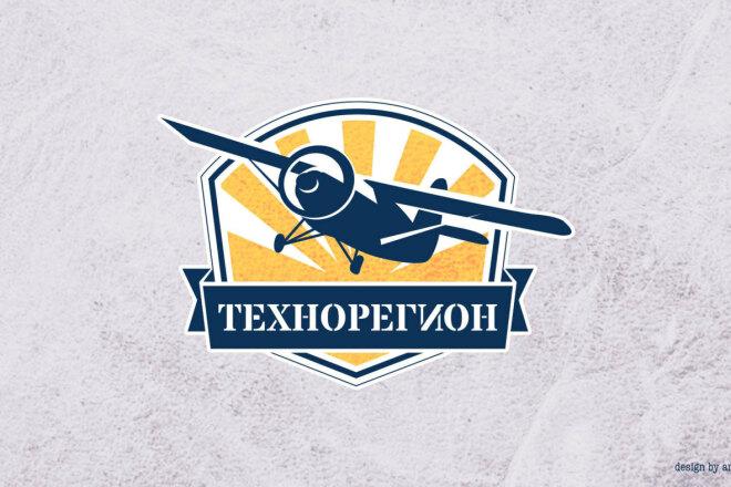 Логотип с изображением 1 - kwork.ru