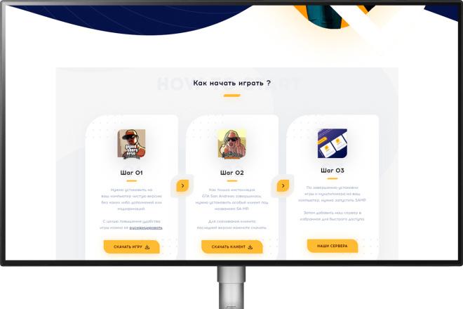 Дизайн для вашего сайта или мобильного приложения + PSD 34 - kwork.ru