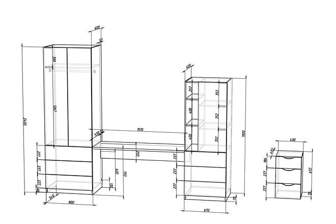Конструкторская документация для изготовления мебели 72 - kwork.ru