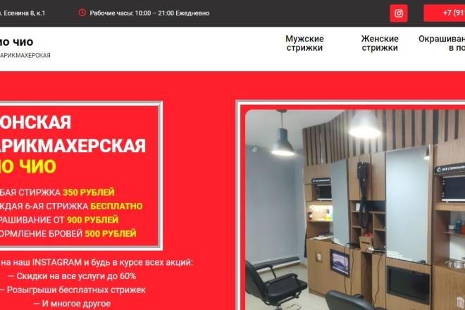 Создам лендинг на вордпресс быстро 4 - kwork.ru