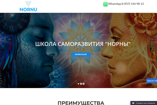 Создание одностраничника на Wordpress 146 - kwork.ru