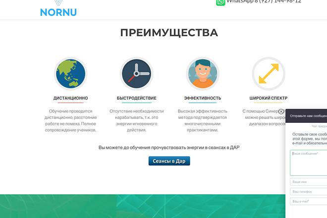 Создание одностраничника на Wordpress 145 - kwork.ru