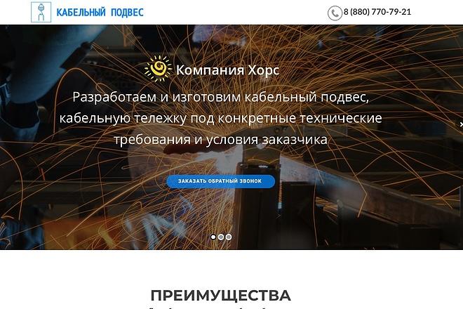 Создание одностраничника на Wordpress 101 - kwork.ru