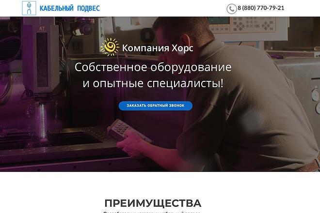 Создание одностраничника на Wordpress 99 - kwork.ru