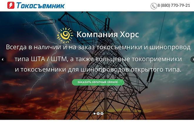 Создание одностраничника на Wordpress 92 - kwork.ru