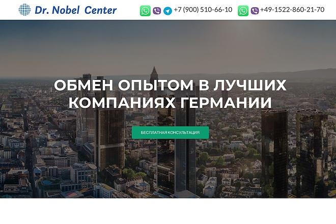 Создание одностраничника на Wordpress 84 - kwork.ru