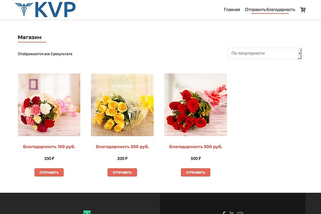 Создание одностраничника на Wordpress 81 - kwork.ru