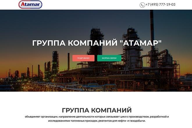 Создание одностраничника на Wordpress 80 - kwork.ru