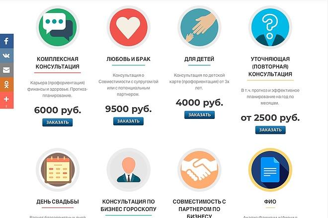Создание одностраничника на Wordpress 73 - kwork.ru