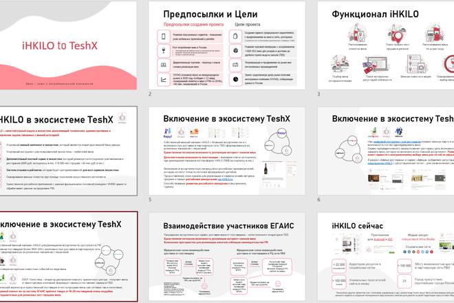 Бизнес-презентация, инвестиционная презентация, презентация стартапа 7 - kwork.ru