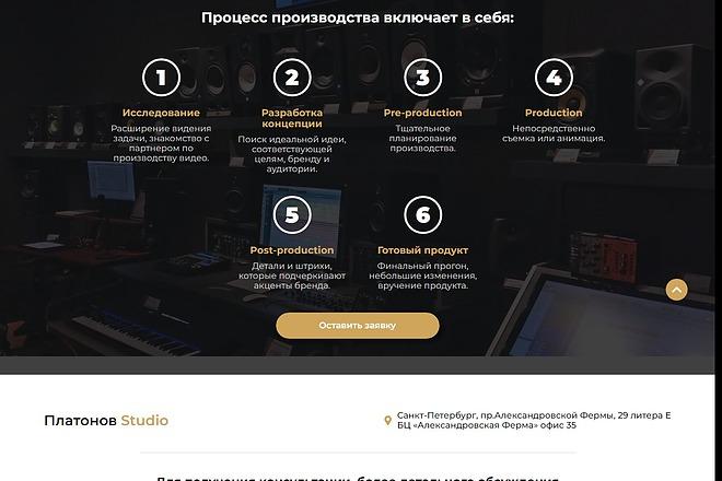 Сайт под ключ. Landing Page. Backend 135 - kwork.ru