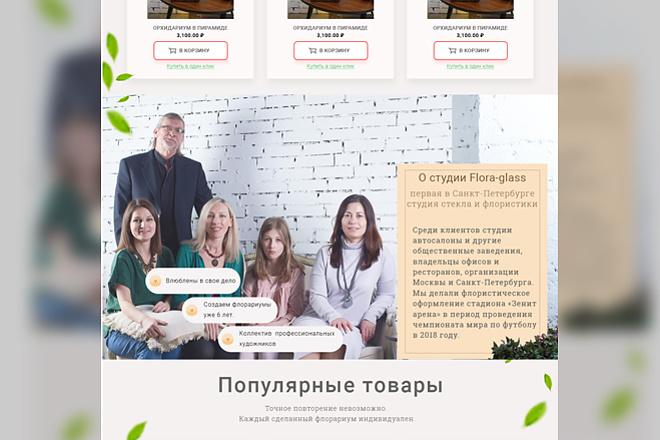 Дизайн лендинг пейдж 6 - kwork.ru