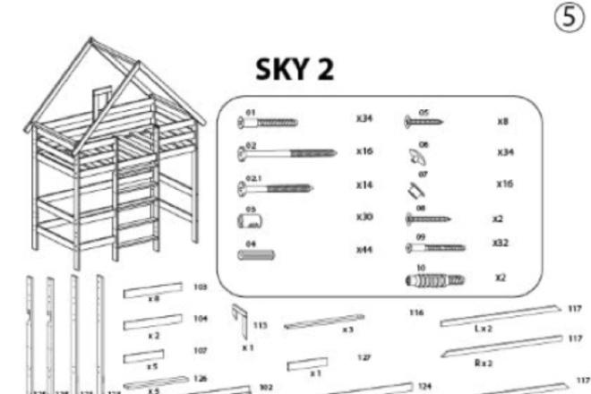 Схема, инструкция сборки мебели 5 - kwork.ru