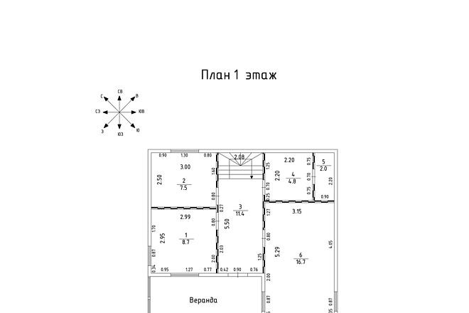 Оцифровка и создание чертежей в AutoCAD 1 - kwork.ru