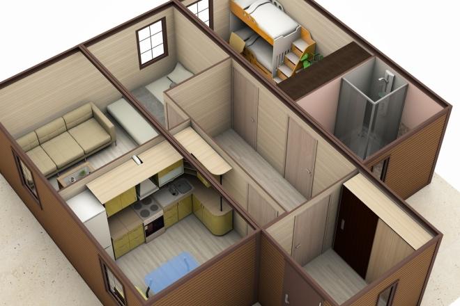 3D модель + визуализация 4 - kwork.ru