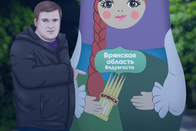 Персонаж 2D 9 - kwork.ru