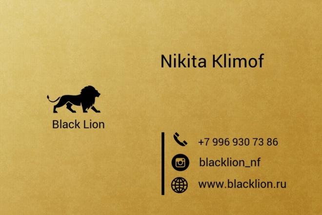 Разработка логотипа для вас и вашего бизнеса 1 - kwork.ru