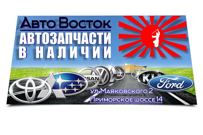 Объёмный и яркий баннер 39 - kwork.ru