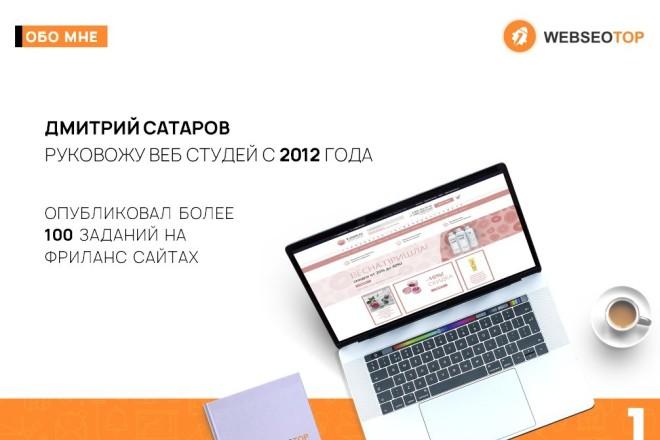 Красиво, стильно и оригинально оформлю презентацию 39 - kwork.ru