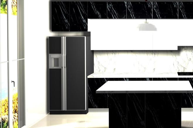 Создам 3D дизайн-проект кухни вашей мечты 3 - kwork.ru