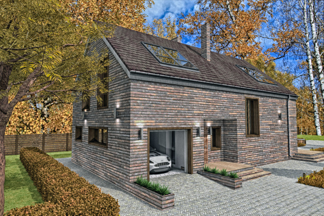 Разработка проекта индивидуального жилого дома 4 - kwork.ru