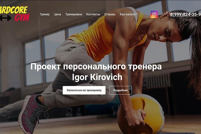 Скопирую любой сайт в html формат 21 - kwork.ru