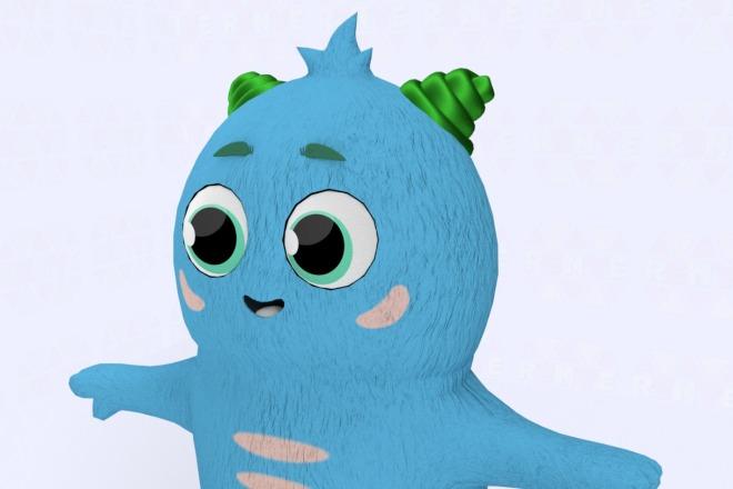 3D персонаж для игрового проекта 10 - kwork.ru