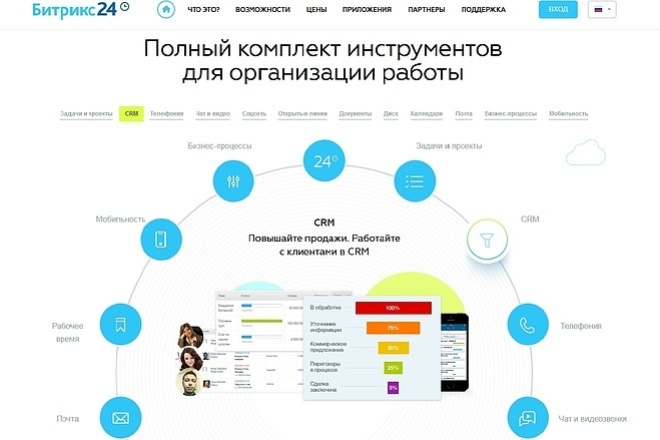 Создам адаптивный Landing Page. Смартфон, Планшет, ПК 2 - kwork.ru