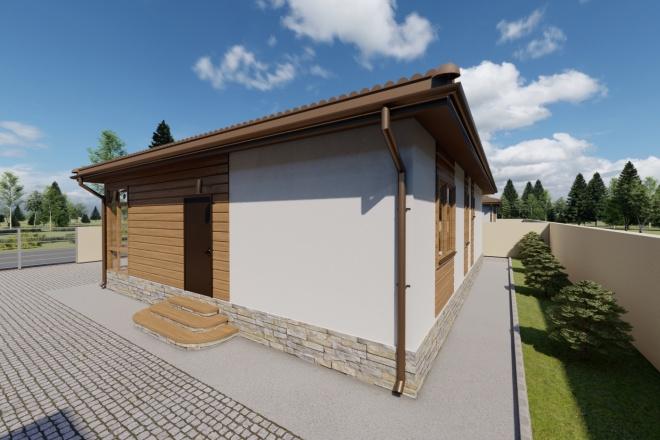 Фотореалистичная 3D визуализация экстерьера Вашего дома 120 - kwork.ru