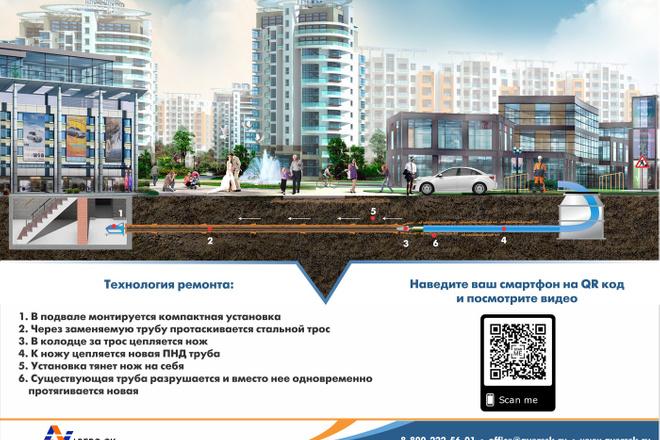 Дизайн брошюры, буклета, лифлета 3 - kwork.ru