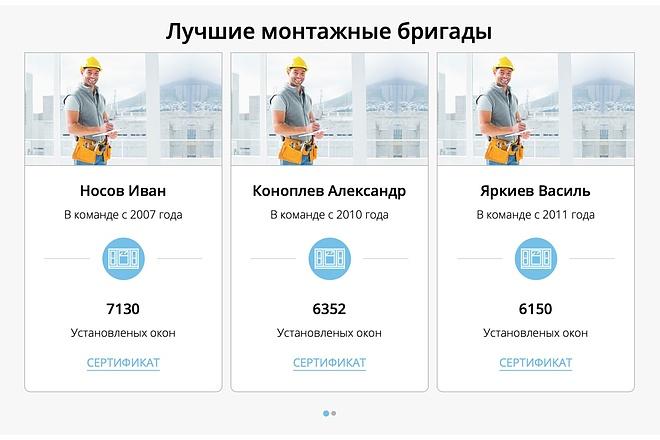 Вёрстка сайтов по доступной цене 159 - kwork.ru
