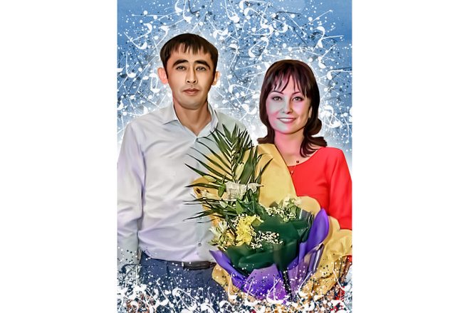 Дрим Арт портрет 9 - kwork.ru