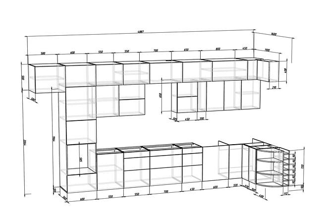 Конструкторская документация для изготовления мебели 73 - kwork.ru
