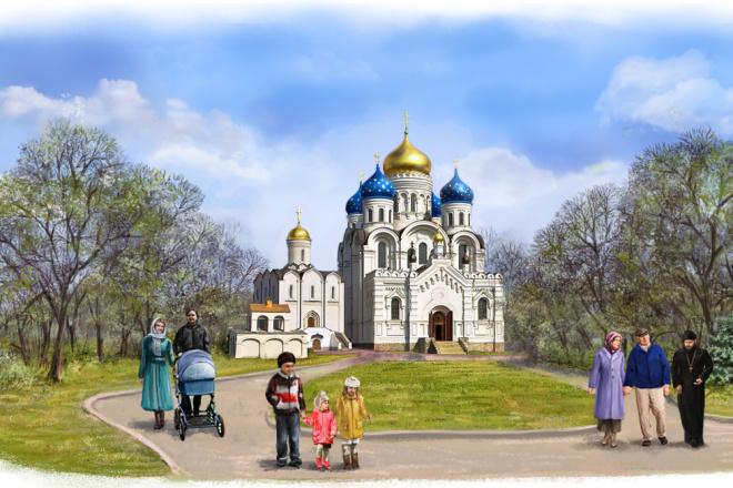 Нарисую иллюстрацию. Растровая графика 2 - kwork.ru