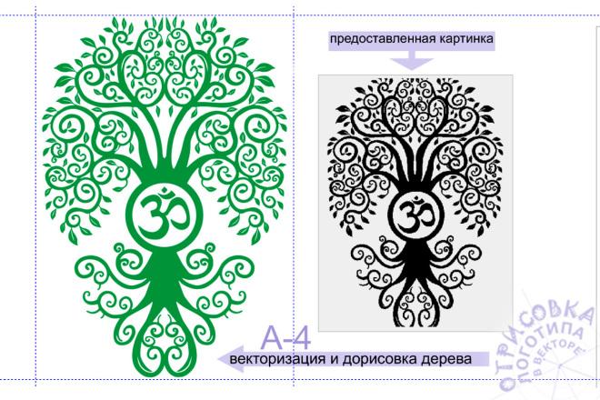 Логотип, растровое изображение или эскиз в вектор 12 - kwork.ru