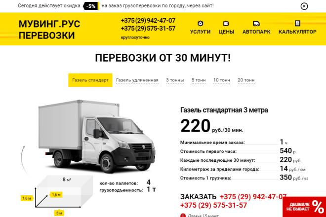 Сделаю копию Landing Page c настройкой 11 - kwork.ru