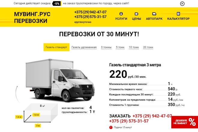 Сделаю копию Landing Page c настройкой 10 - kwork.ru