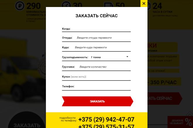 Сделаю копию Landing Page c настройкой 9 - kwork.ru