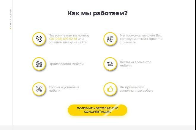 Сайт под ключ. Landing Page. Backend 145 - kwork.ru