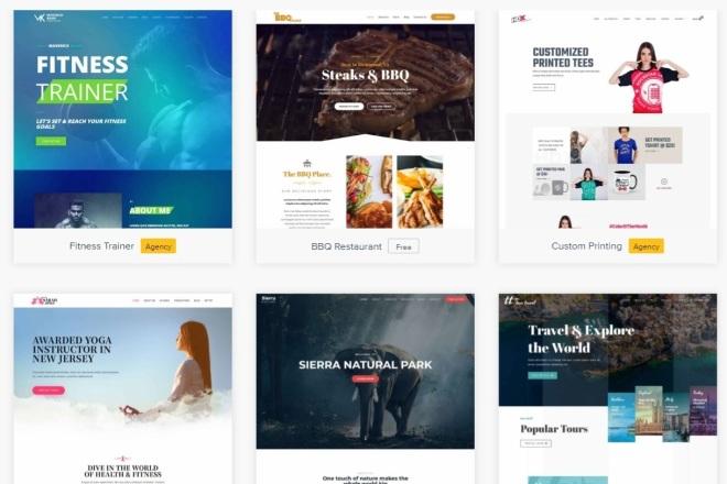ПАК 1000 шаблонов и дополнений для WordPress 23 - kwork.ru