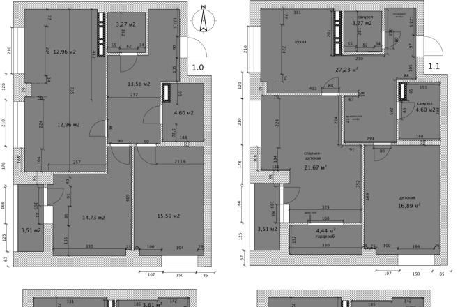 Интересные планировки квартир 13 - kwork.ru