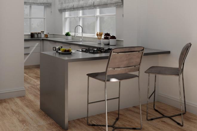 Дизайн-проект кухни. 3 варианта 30 - kwork.ru