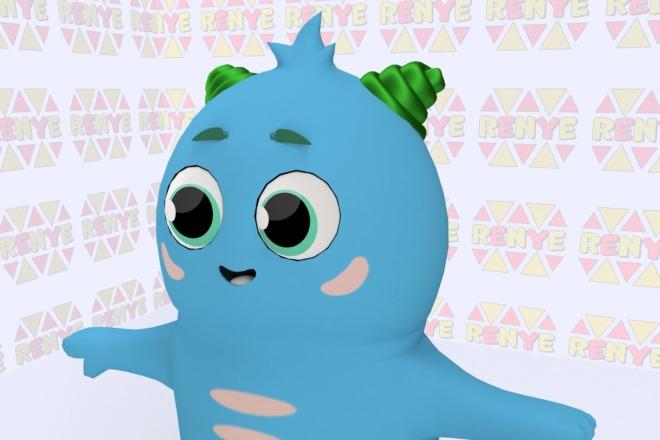 3D персонаж для игрового проекта 9 - kwork.ru