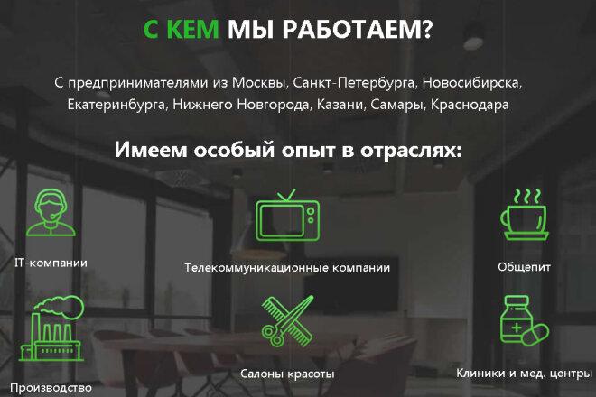 Копирование Landing Page и перенос на Wordpress 3 - kwork.ru