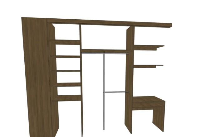 Проектирование корпусной мебели 3 - kwork.ru