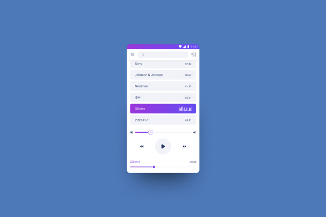 Дизайн мобильного приложения 6 - kwork.ru