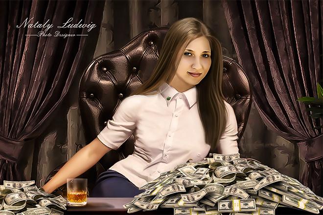 Создам стилизованный цифровой портрет 9 - kwork.ru