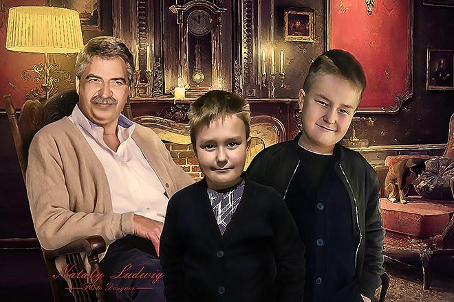 Создам стилизованный цифровой портрет 8 - kwork.ru